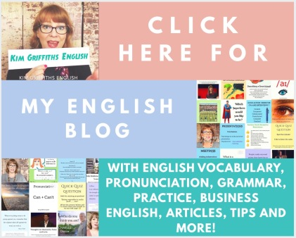 Blog KimgriffithsEnglish.com
