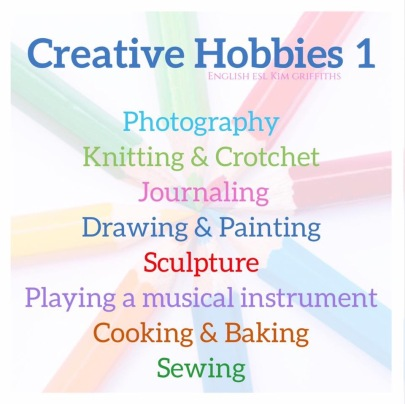 Creative Hobbies 1 kimgriffithsenglish