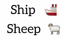Ship and sheep pronunciation Kim Griffiths English