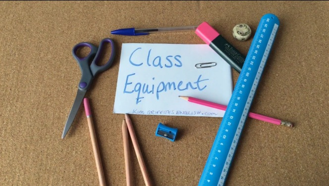 Class equipment kimgriffithsenglish