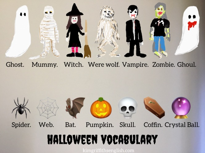 Kimgriffithsenglish blog Halloween vocabulary