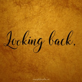 Article for English learners - Looking back looking forwards, kimgriffithsenglish.com
