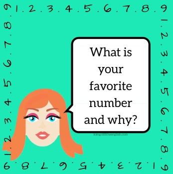 What is your favorite number? KimGriffithsEnglish ESL blog for English learners.