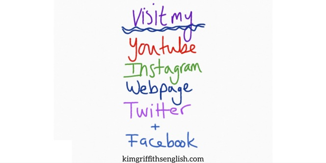 KimGriffithsEnglish. For ESL English learners. Articles, tips and other interesting stuff.