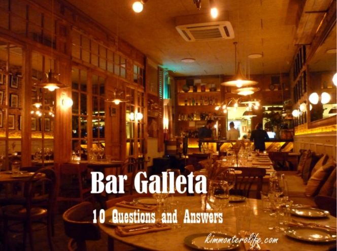 Bar Galleta, review, kimmonterolife.com blog