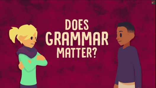 Does Grammar Matter? Ted-Ed.
