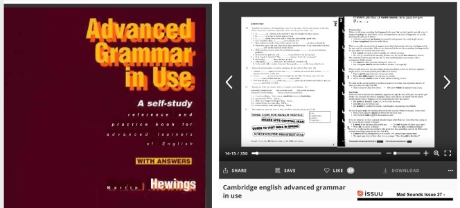 Advanced Grammar in use, online
