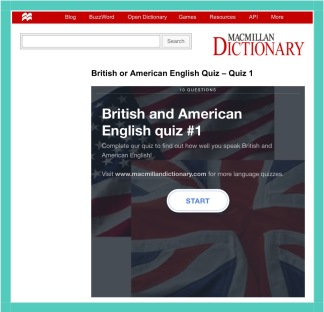 American and English English Quiz from Macmillan dictionary webpage, kimgriffithsengli.com, the blog to improve and practice your English.IMG_4940