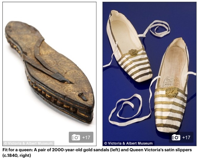 Historic shoes! If the shoe fits, and article from kimgriiffithsenglish.com , the blog to I prove and practice your English