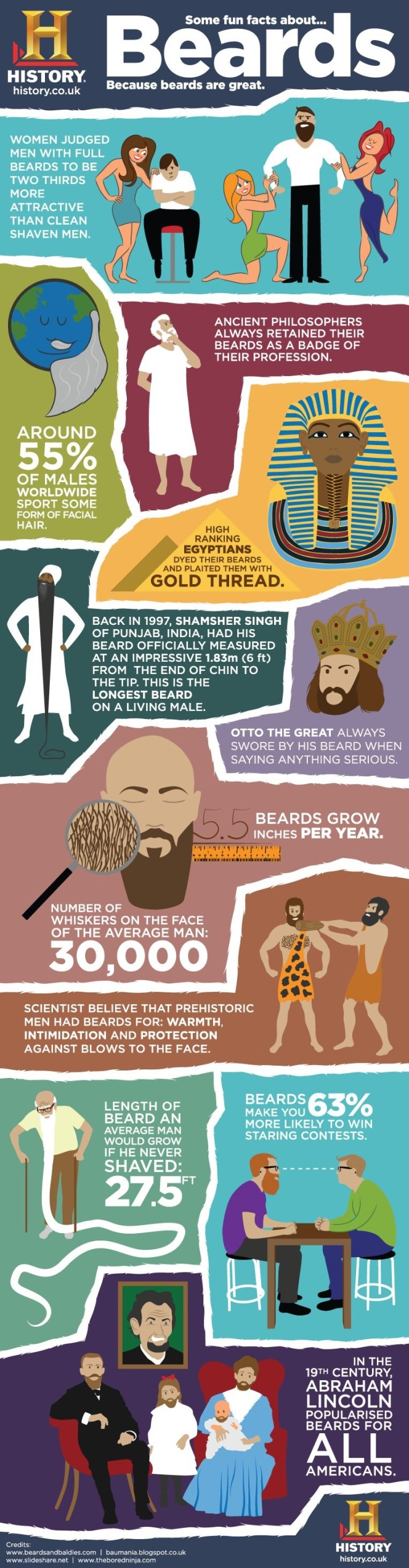 Fun facts about beards from history.co.uk taken from the article beards by kimgriffithsenglish.com the webpage to improve and practice your English