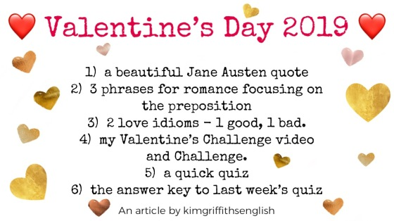 Valentines Day blog, Kim griffiths Englishs.com