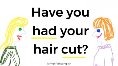 Have you had a hair cut? From @kimgriffithsenglish, the English as a second language teaching page.
