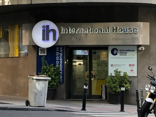Internacional House, calle Génova, Madrid