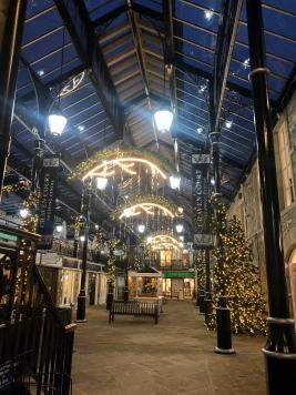 Craven court Skipton Christmas decorations 2019. KimGriffithsEnglish.com